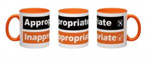 Mug Orange Handled
